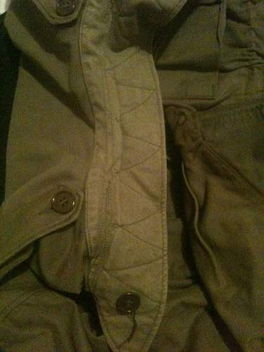 Dating a US M43 Field jacket
