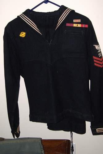 US Navy Uniform to JD Newton