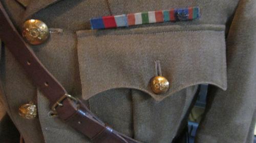 WW1/WWII Canadian Lieutenants Tunic with Sam Browne belt????