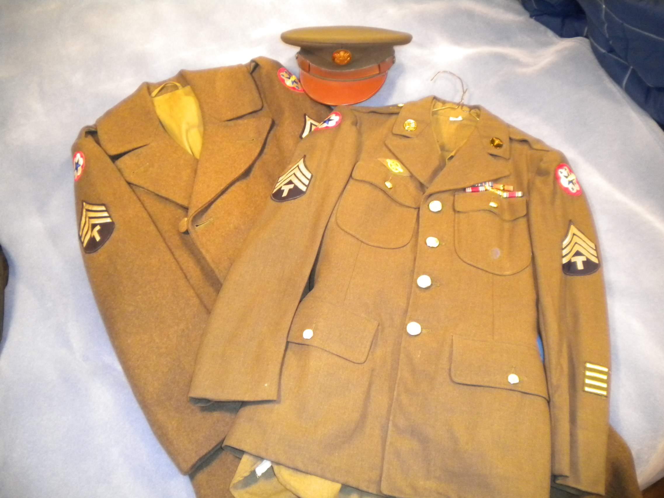 WWII US Army Service Uniform - photo#41