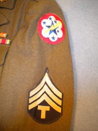 WWII US Army Service Uniform