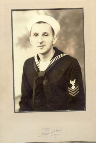 Let's see your ww2 usn chief petty officer uniforms