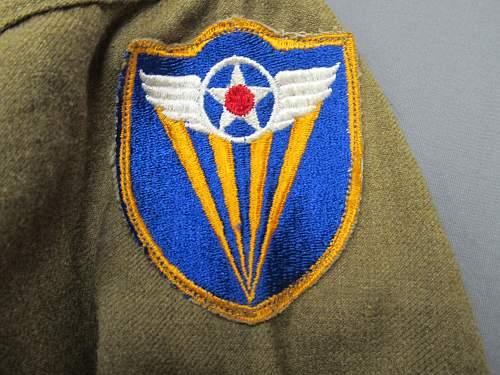 14th USAAF/ 4th USAAF uniform grouping