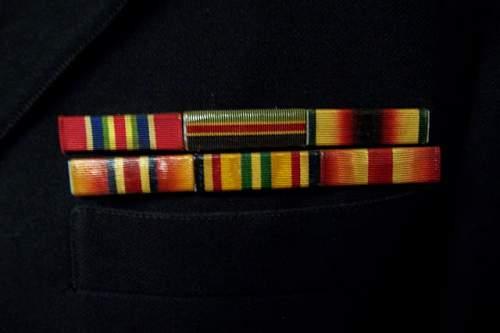 Usms ww2 officer uniform  named!!