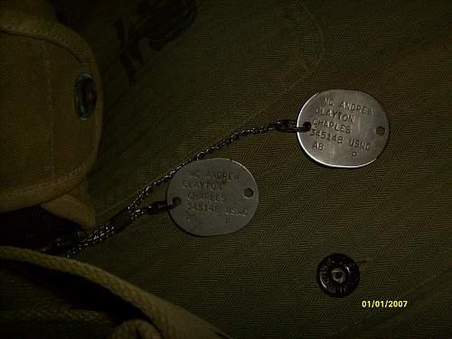 Almost complete WW2 USMC setup