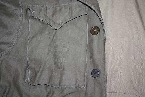 M43 Field Jacket, and possible insignia