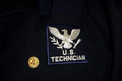 U.S. Technicians uniforms,all name to one guy