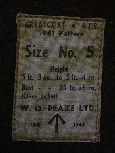 Click image for larger version.  Name:ATS Other ranks greatcoat 005.jpg Views:724 Size:115.7 KB ID:290541