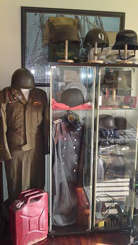 43rd US Infantry Div Ike jacket and trousers