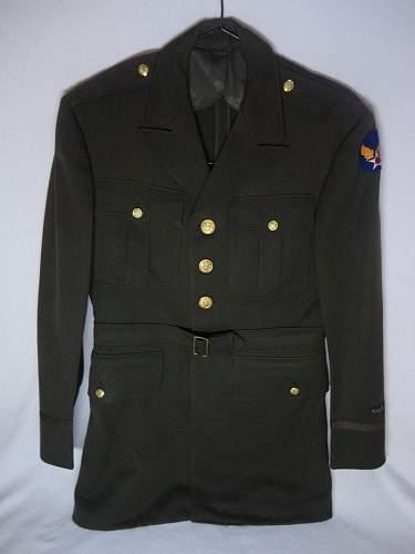 Named USAAC Officer Uniform Grouping