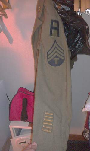 Show me your US 1st Army ww2 items