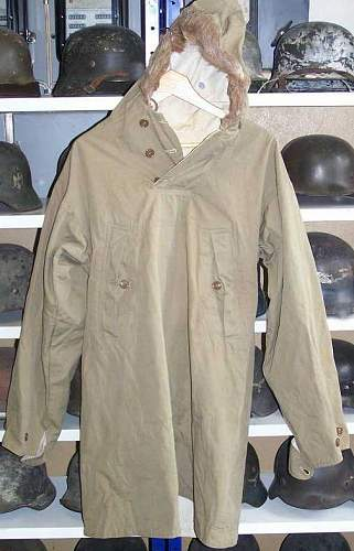 US Mountain troops parka