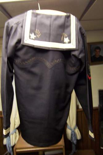 The best navy liberty jumper set i ever seen !!!!!!!!!!!!