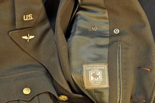 USAAF Service Pilot Uniform