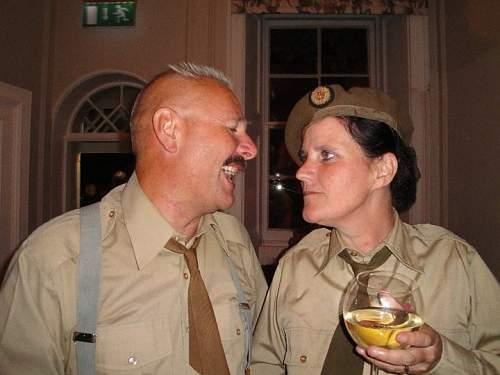 ATS Ack-Ack Officers uniform group