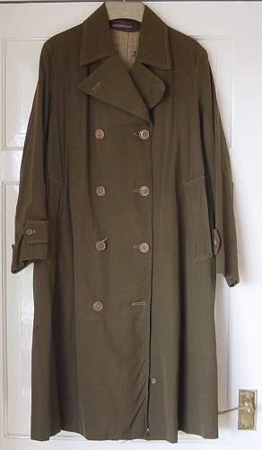 Coats, Rainproof, ATS. (Rare item)