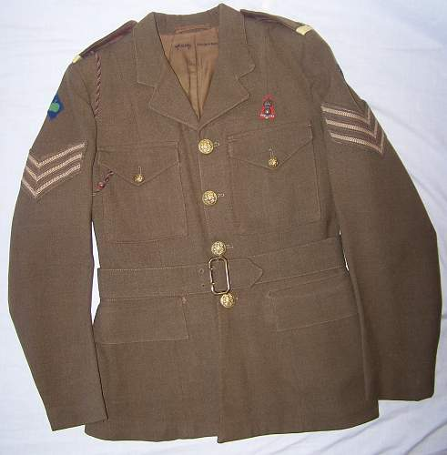 ATS 1941 Service Dress, Royal Artillery, Northern Command