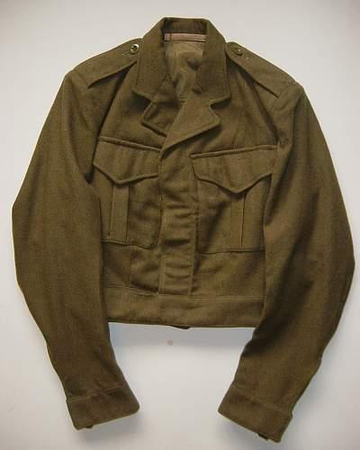 Click image for larger version.  Name:WRAC 1951 pattern Battledress blouse..jpg Views:491 Size:200.2 KB ID:320450