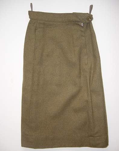 Click image for larger version.  Name:WRAC  1951 pattern BD skirt..jpg Views:461 Size:195.0 KB ID:320457