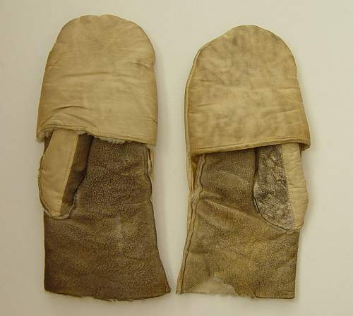 Gloves, shearling