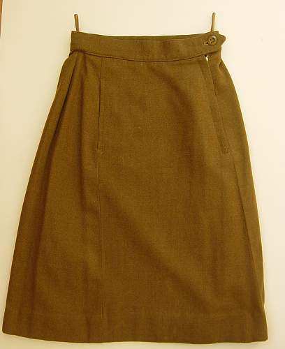 WRAC BD Blouse and skirt