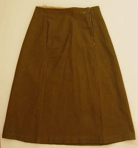 Skirt, Serge, ATS 1941 pattern