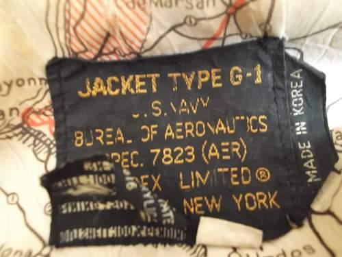 Type G-1 Avirex US Navy Jacket
