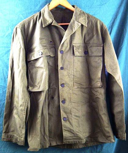 WW2 US HBT Jacket