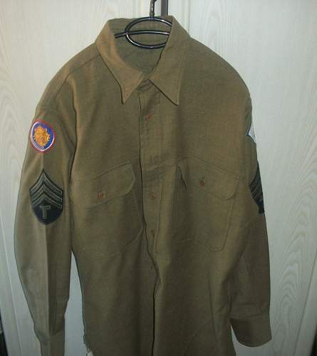 Shirt 106th infantry division
