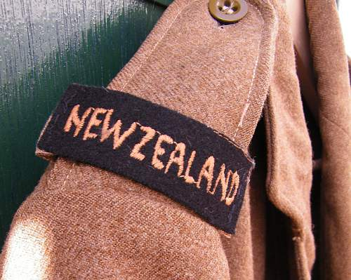 New Zealand made BD badged to Royal Engineers