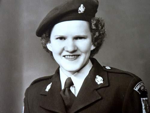 Unknown British Womens Uniform