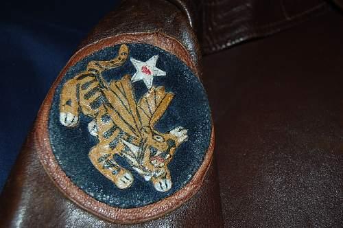 14th AAF Flying Tigers A2 Jacket