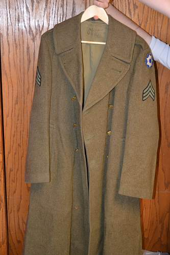 US ARMY Great coat? WWII? or Korean?
