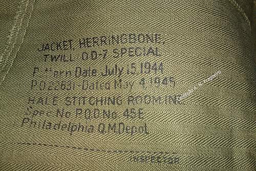 US HBT 1945 tunic