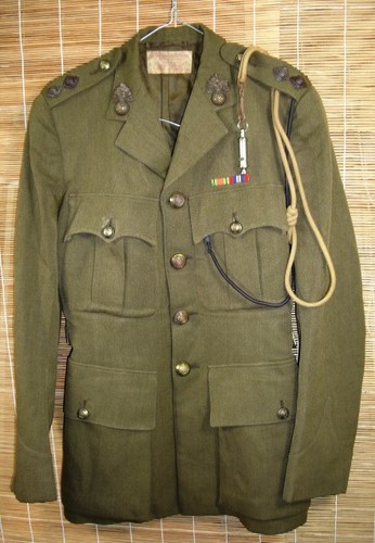 Royal Fusiliers SD tunic