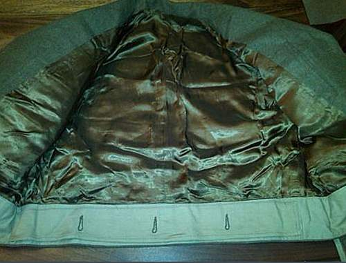 Brit/Rhodesia P37 Jacket with Liner