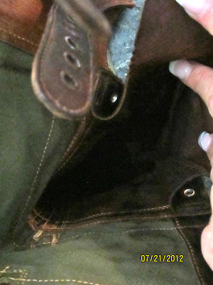 Just a little checkup on double buckle boots