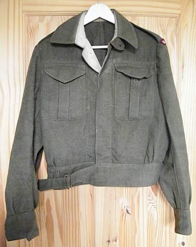 RAMC badged Canadian made BD 1945?