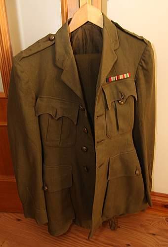 REME Officers Uniform