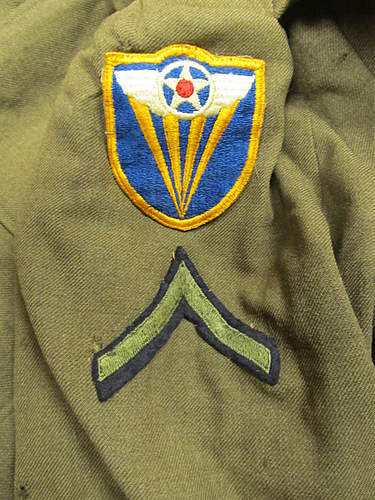 Salty 4th Air Force service jacket