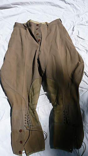 WWI Pants Help