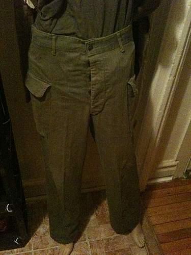 US HBT pants?