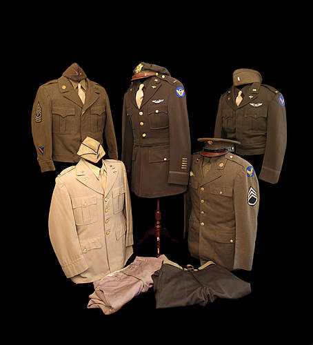 Some British and American uniforms