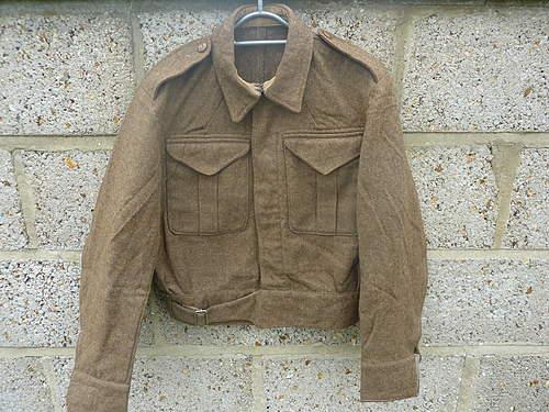1937 British Battledress blouse.
