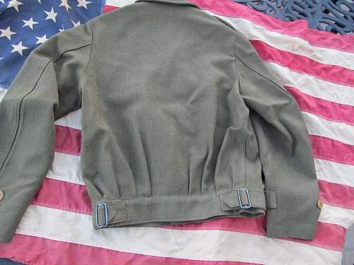 Ike jacket made in Australia
