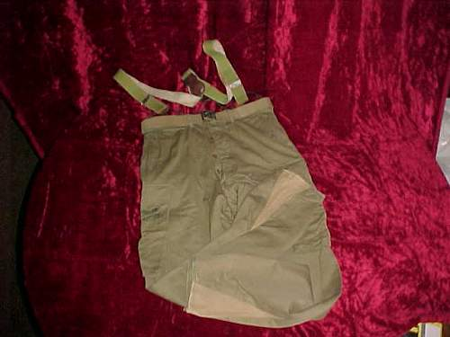 Click image for larger version.  Name:Jump pants, suspenders, and belt for 82 jump jacket.jpg Views:408 Size:28.4 KB ID:40601