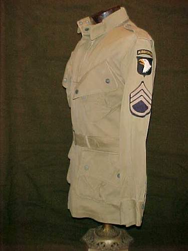 US 82nd and 101st Airborne jump jackets