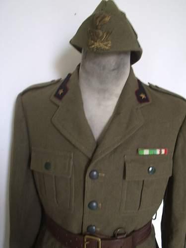 Italian uniform