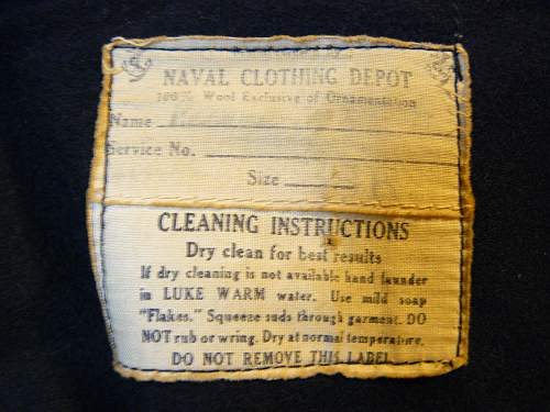 USN enlisted mans class A dress uniform (Jumper )