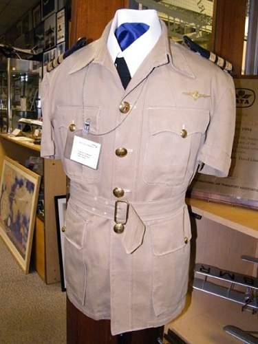Mysterious Uniform..